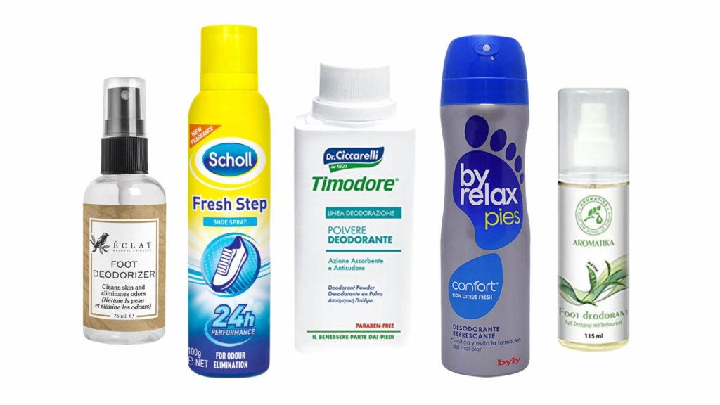 mejor-desodorante-para-los-pies